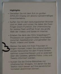 HTC Desire Highlights