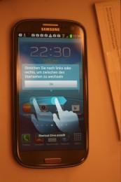Homescreen Tips während die Apps installieren