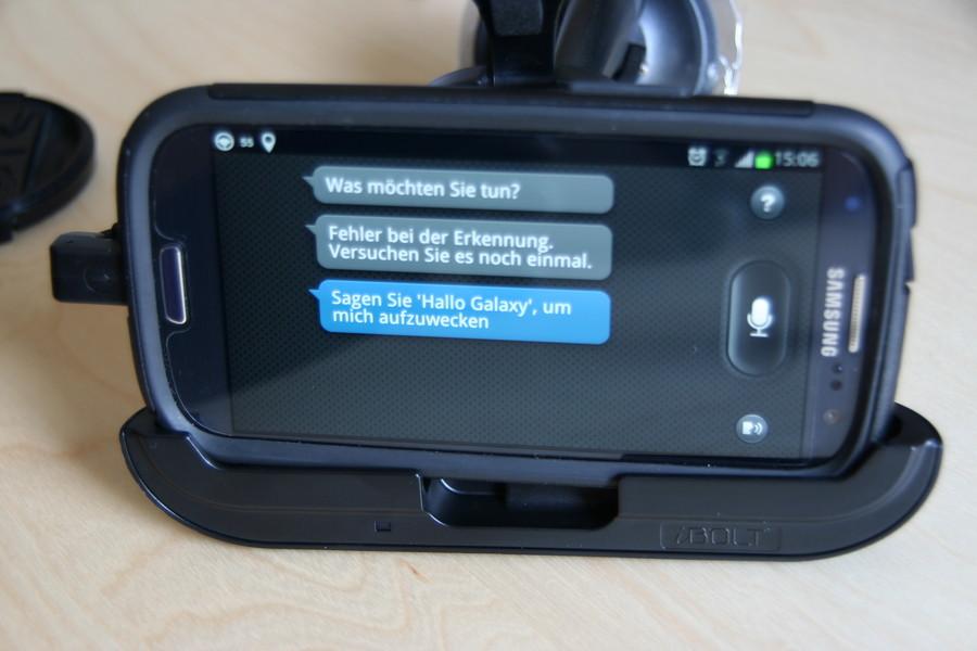Samsung Galaxy S3 KFZ Halterung iBolt