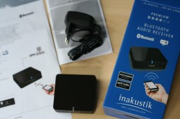 inakustik Bluetooth Audio Receiver