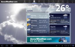 AccuWeather 15-Tage-Vorhersage Wetter