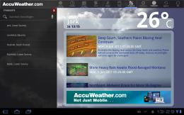 AccuWeather News + Standorte