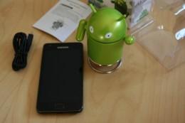 Neben Samsung Galaxy S2
