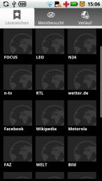 Browser Lesezeichen