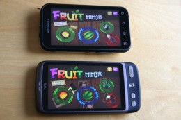 Vergleich mit Fruit Ninja
