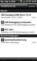 Erstes Problem Froyo Downloadfehler