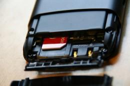 Akku, Simkarte und microSD