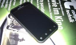Foto mit HTC Desire von Testgerät aufgenommen ohne Akkudeckel