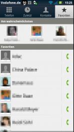 Kontakte Favoriten