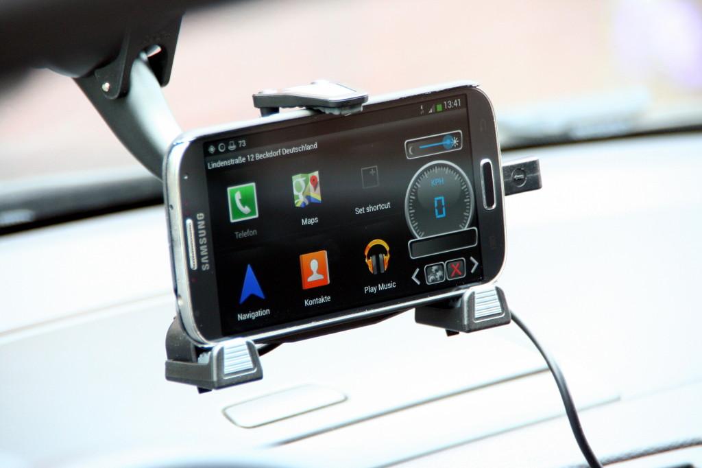 Samsung Galaxy S4 KFZ Halterung iBolt xProDock for Samsung