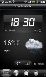 HTC Sense Uhr